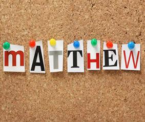 Matthew Quiz