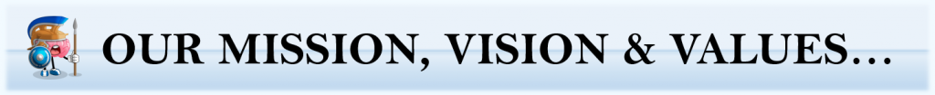 OUR MISION VISION VALUES (v7.26 1 BB) Capture