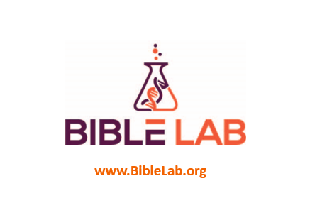 Bible Lab (family of ministries) logo with website