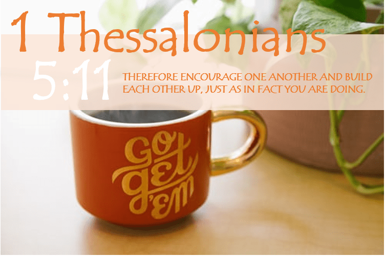 1 THESSALONIANS 5:11 image