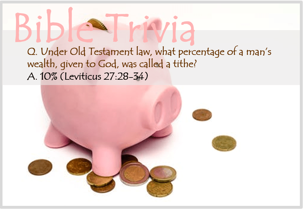 Bible Trivia 106 Capture
