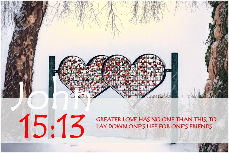 JOHN 15:13 image
