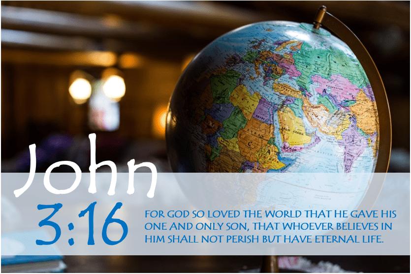 JOHN 3:16 verse image