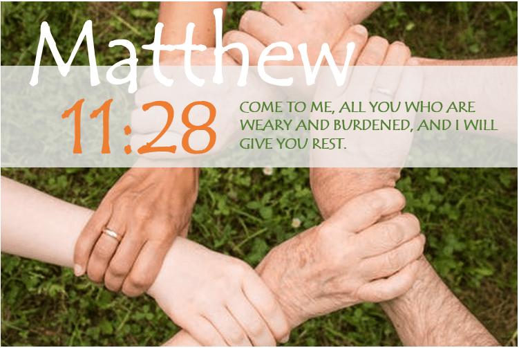 MATTHEW 11:28 image