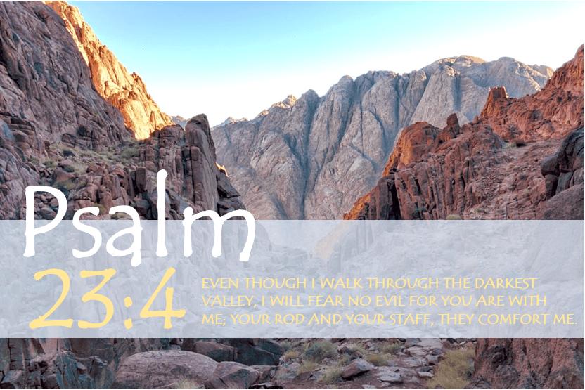 PSALM 23:4 verse image