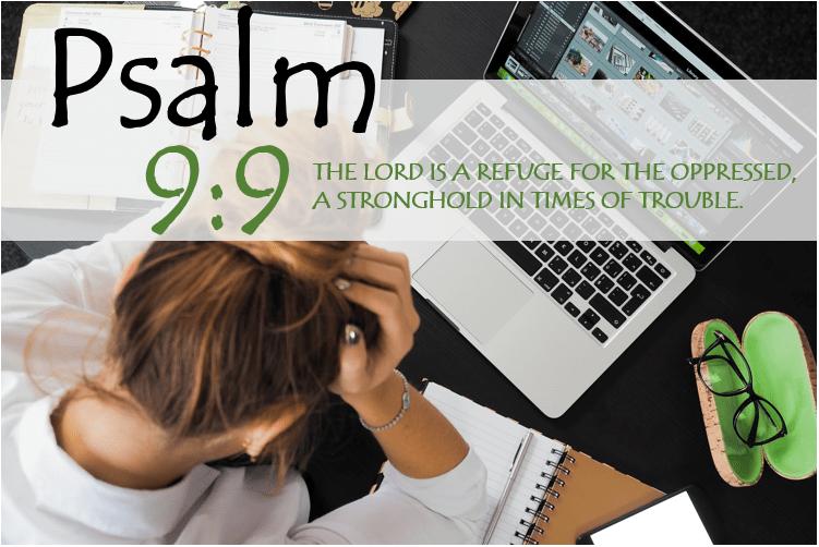 PSALM 9:9 image