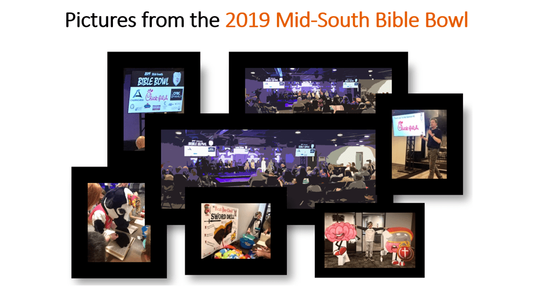 Pics from the 2019 Bible Bowl (revised)