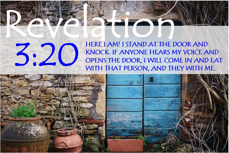 REVELATION 3:20 image