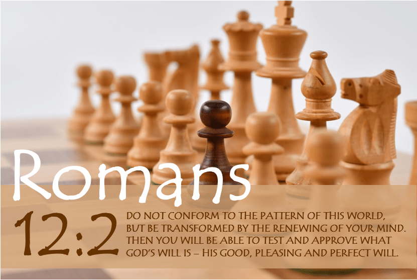 ROMANS 12:2 verse image