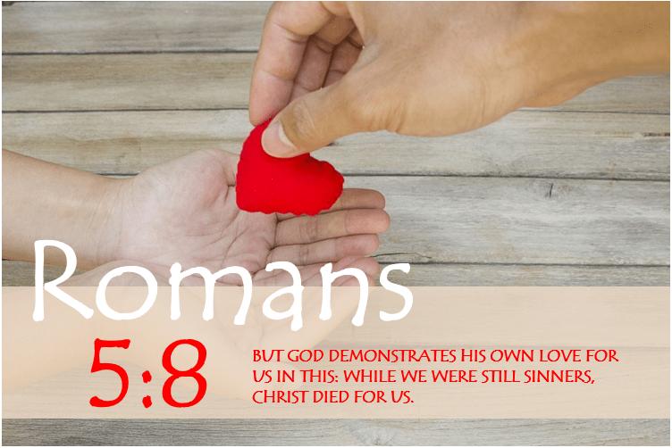 ROMANS 5:8 image
