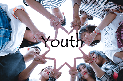 YOUTH image with text