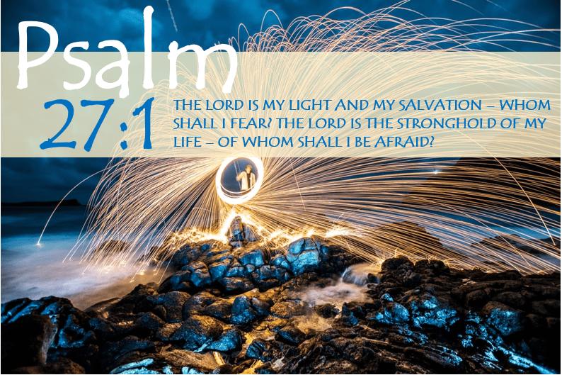 Psalm 27:1 Bible Verse Image