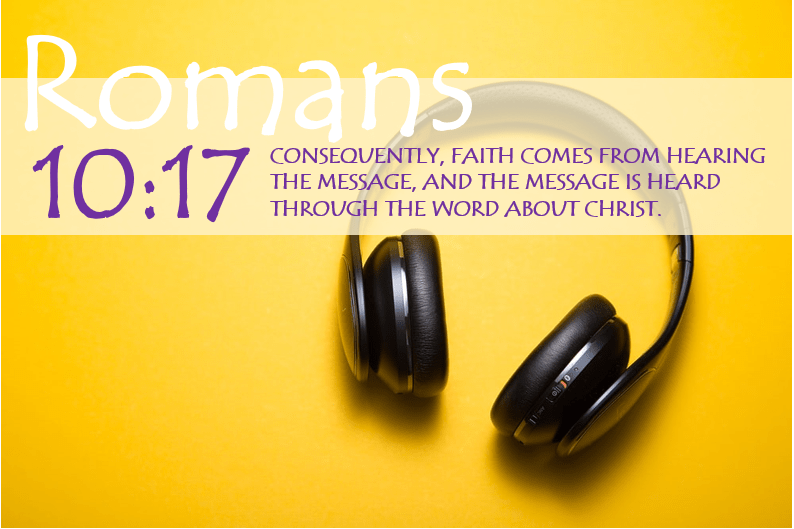 Romans 10:17 Bible Verse Image v2