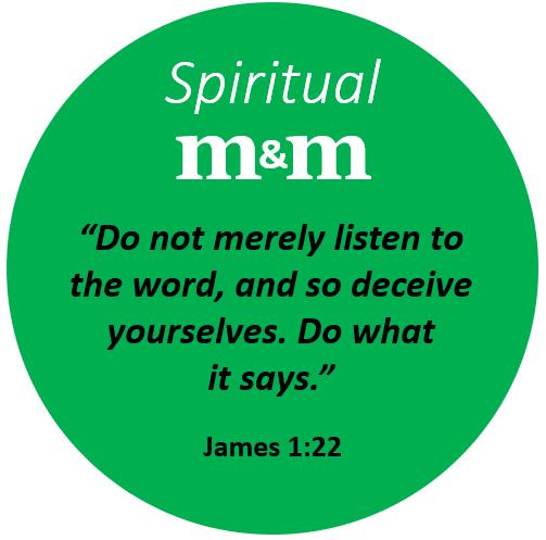 Spiritual M&M James 1_22 R