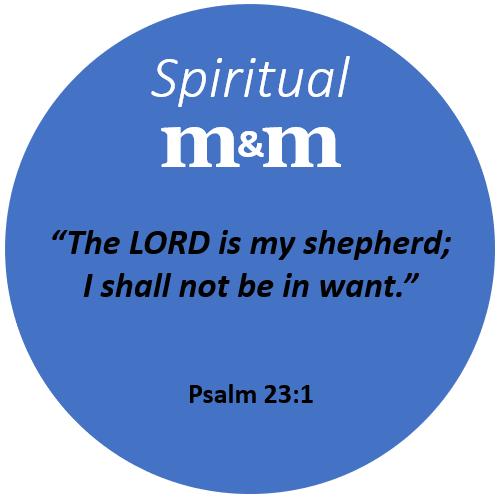 Spiritual M&M Psalm 23_1