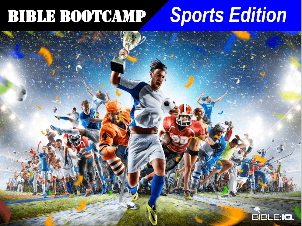 Bible Bootcamp Sports Edition