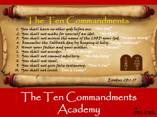 The Ten Commandments Academy